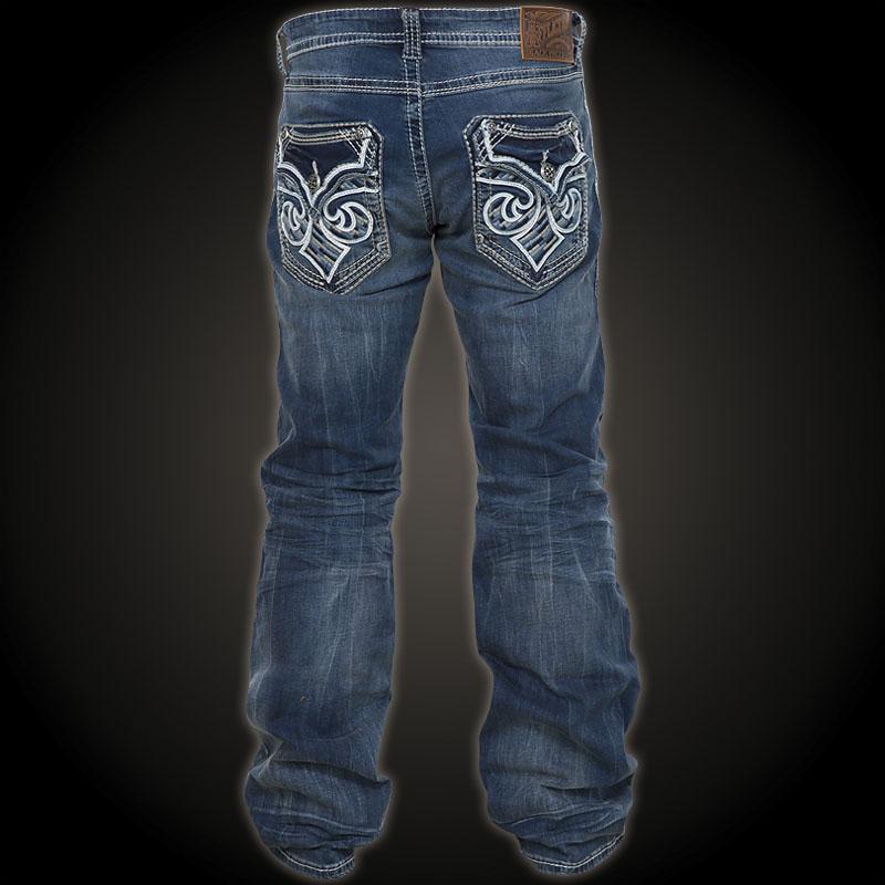 Jeans With Zipper Pockets Men