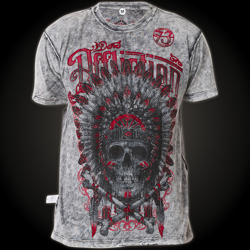 affliction t shirt iron with a american