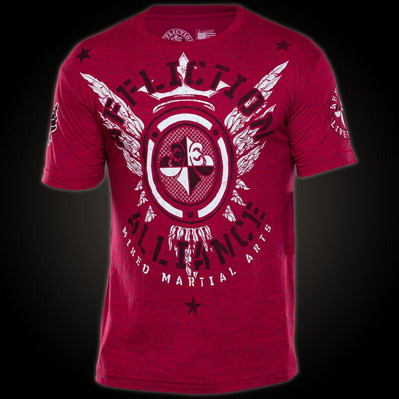 affliction t shirt alliance t shirt of team alliance mma