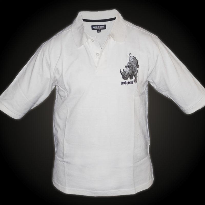 ecko unltd tshirt white tshirt features large raised