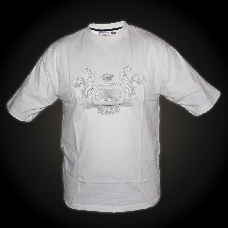 ecko unltd tshirt white tshirt with large print design