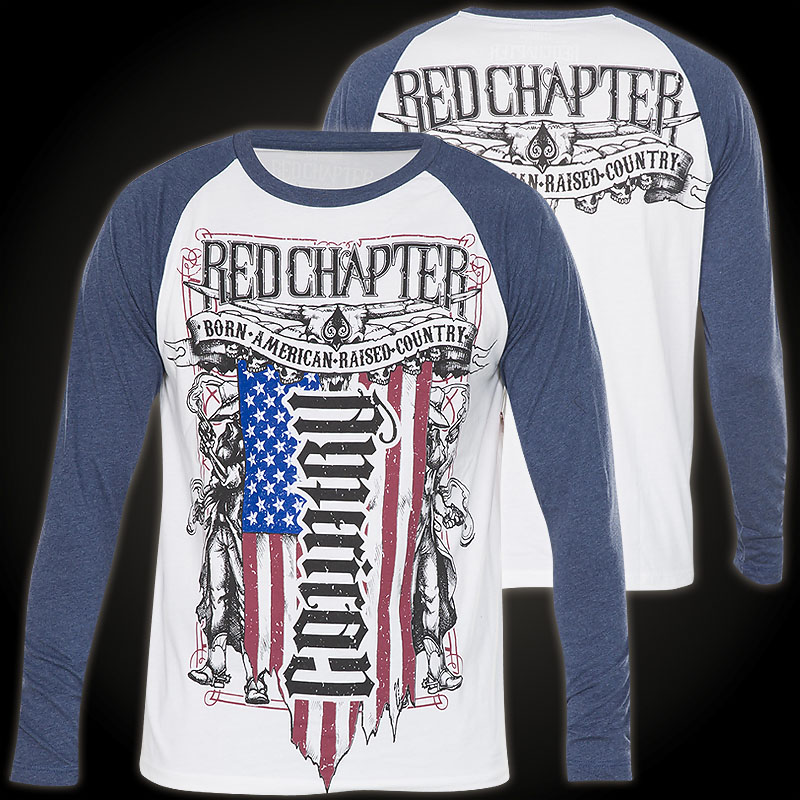 chapter sweater american country with a u s flag design