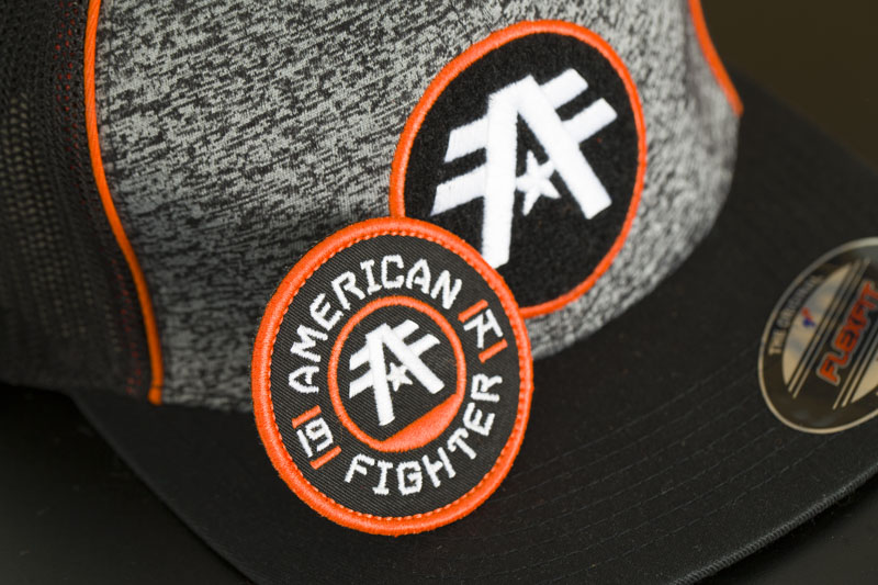 buy popular 5aa28 3a5df ... American Fighter by Affliction Fort Lewis Hat Black Grey