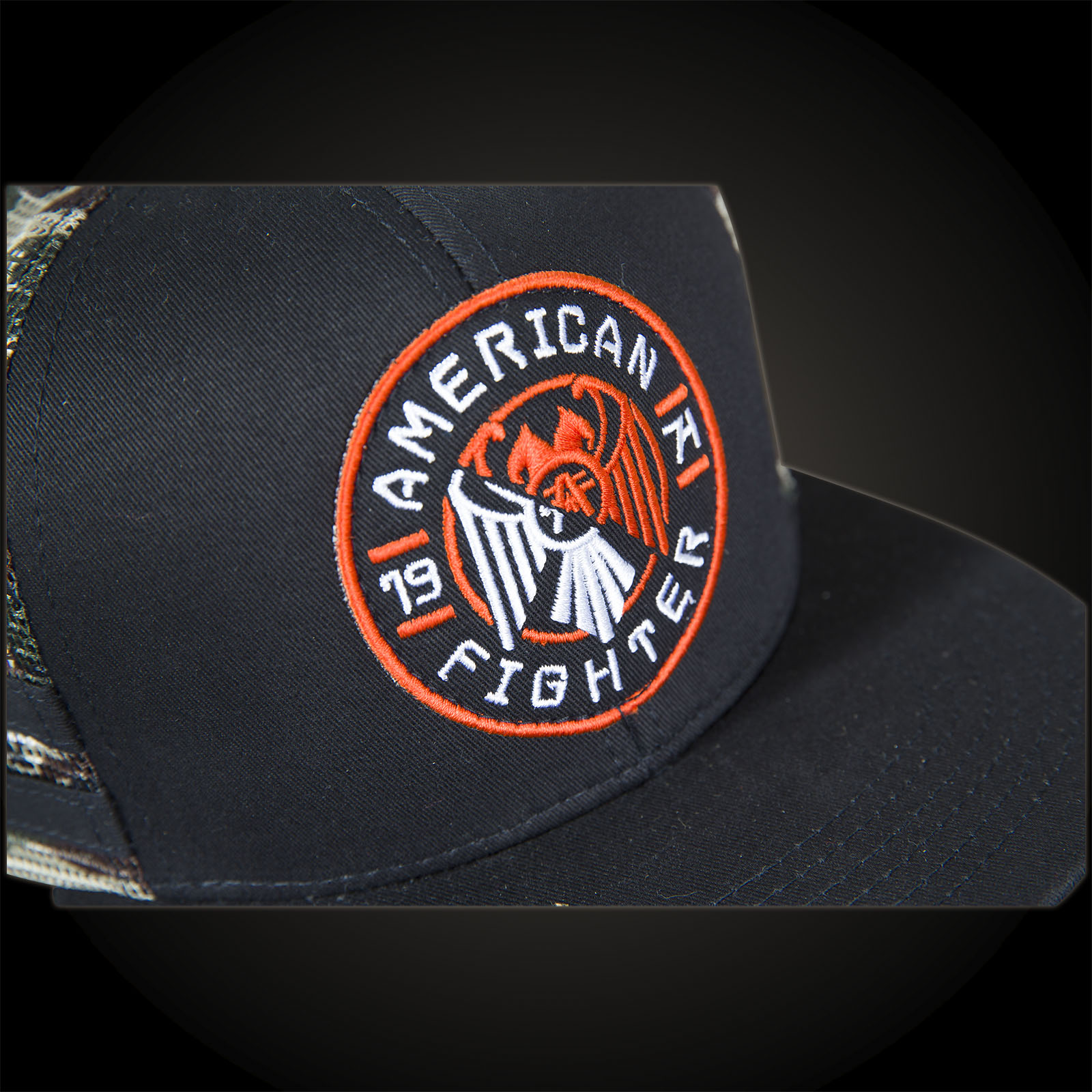 1c658699 American Fighter by Affliction Fisher Hat Hat with a Velcro-Patch