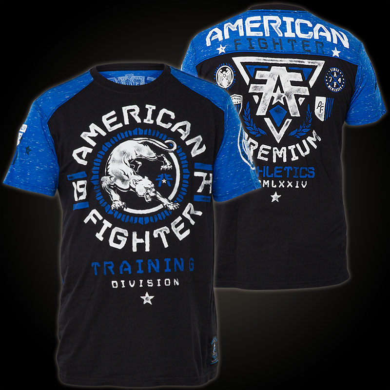 American Fighter By Affliction T Shirt With Large Print
