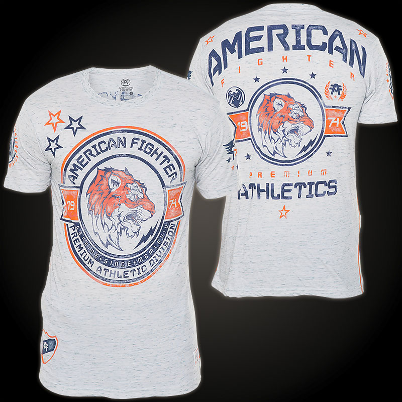 American fighter by affliction louisville shirt with for Louisville t shirt printing
