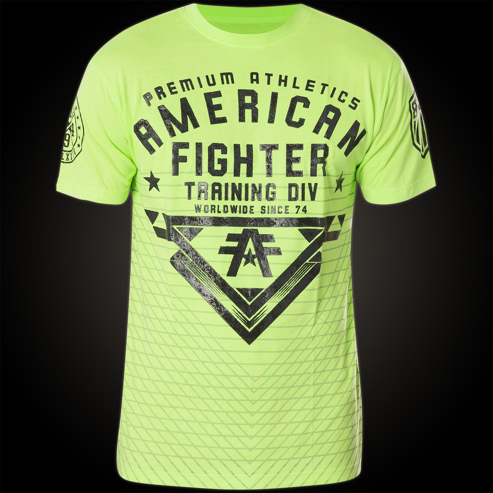 american fighter mansfield with reflecting logo prints