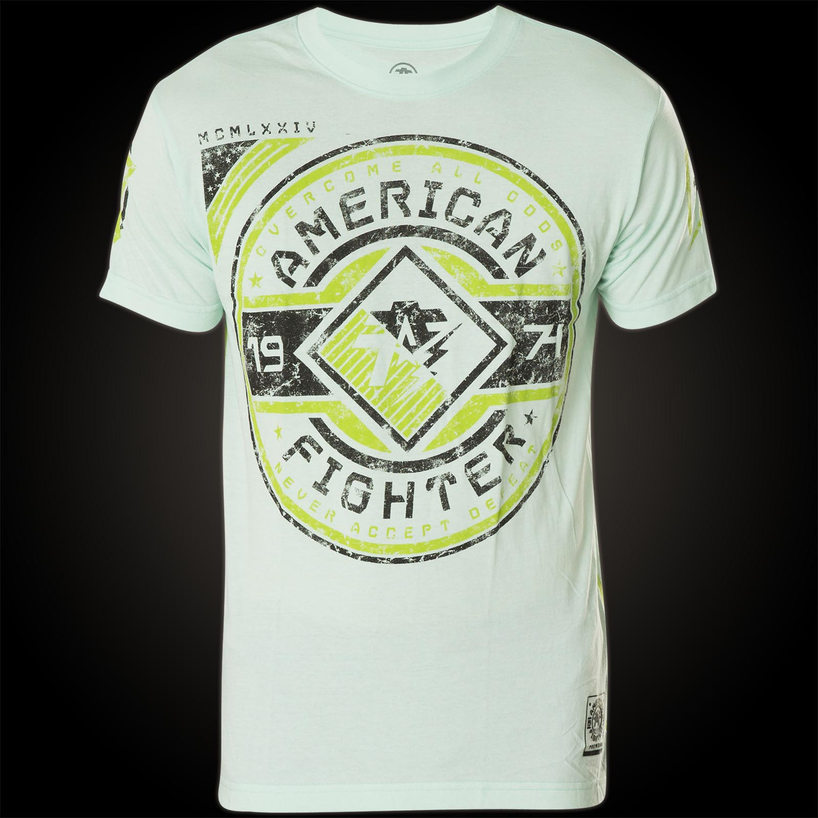 American fighter bronx with logo prints for T shirt printing bronx