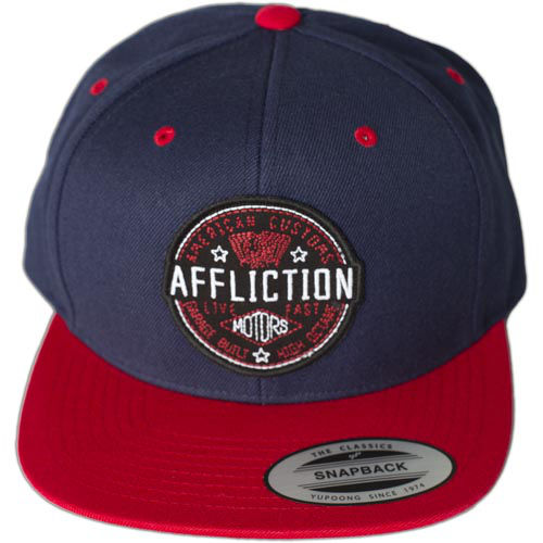 Affliction Garage Built Cap With An Embroidered Patch