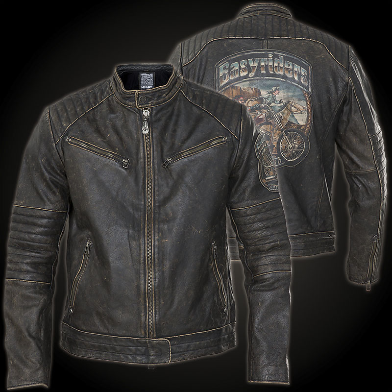 Affliction Ghost Rider Jacket Patch With A Coloured Biker