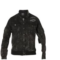 American Fighter by Affliction Melt Down Jacket Black
