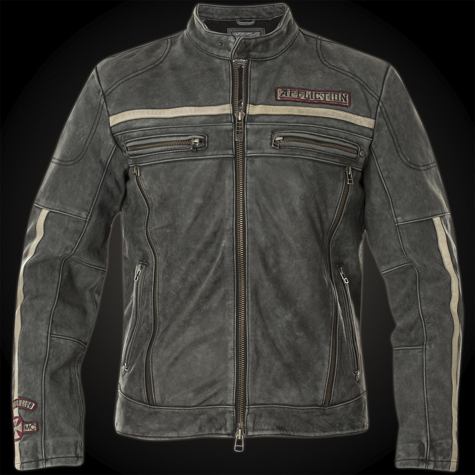 Affliction Black Moon Riders Jacket In Biker Style Made
