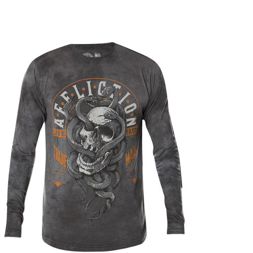 5b7c0c600bd Affliction Thermal Manitoba with ornaments and Affliction lettering