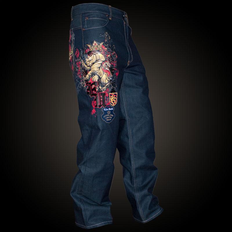 Ecko Unltd. Baggy Rhino Theory Jean in Blue, Baggy Style ...