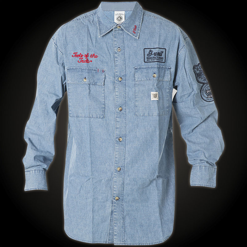 G Unit Shirt Tools Of The Trade With Embroidered Patches