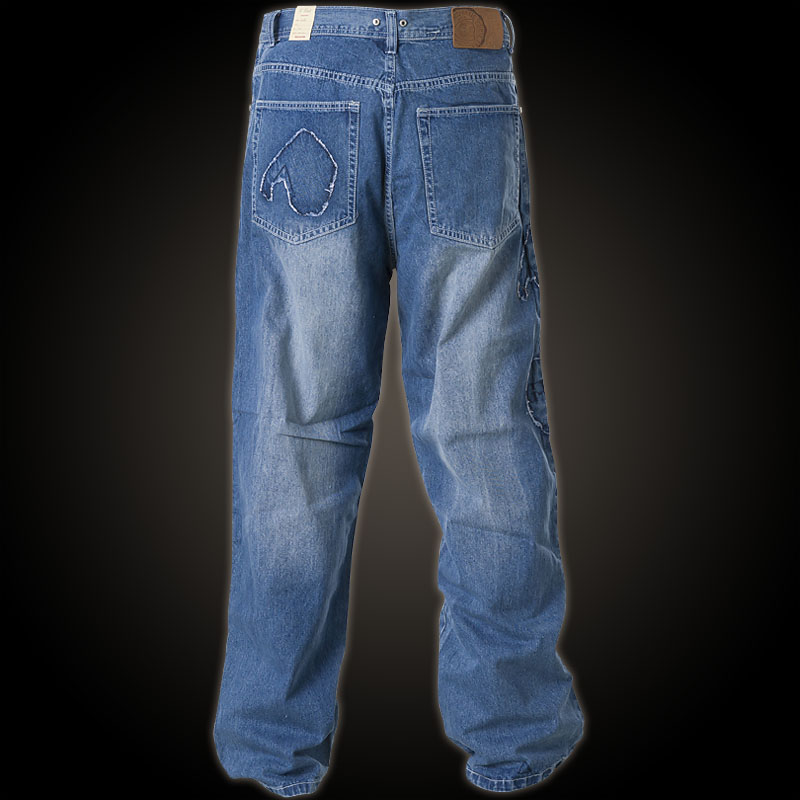 G Unit Jeans Patches With Decorative Patches And Rivets