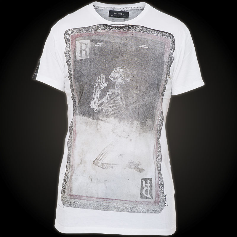 Religion t shirt playing card white t shirt with a for T shirt printing pdf