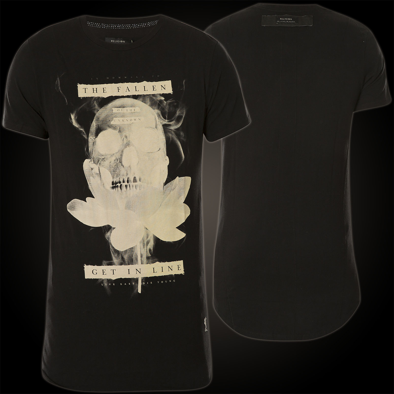 Religion Lotus Skull 27bllf31 With A Skull And Lotus Flower