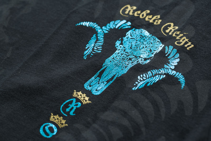 Rebel Spirit T-Shirt SSK141704 Black