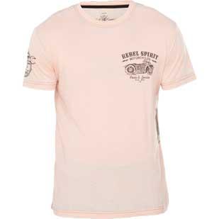 REBEL SPIRIT T-Shirt RSSK161821 White Creme T-Shirts