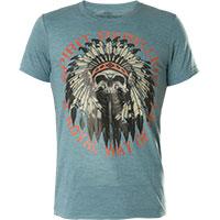 Rebel Spirit T-Shirt RSSK161825 Blue