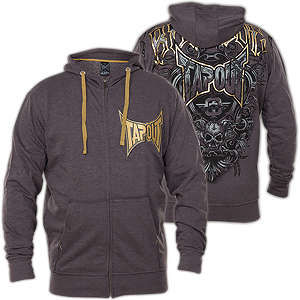 Tapout Hoody Agent Shield - Hoody with a large patch 6e447d3b49ccb