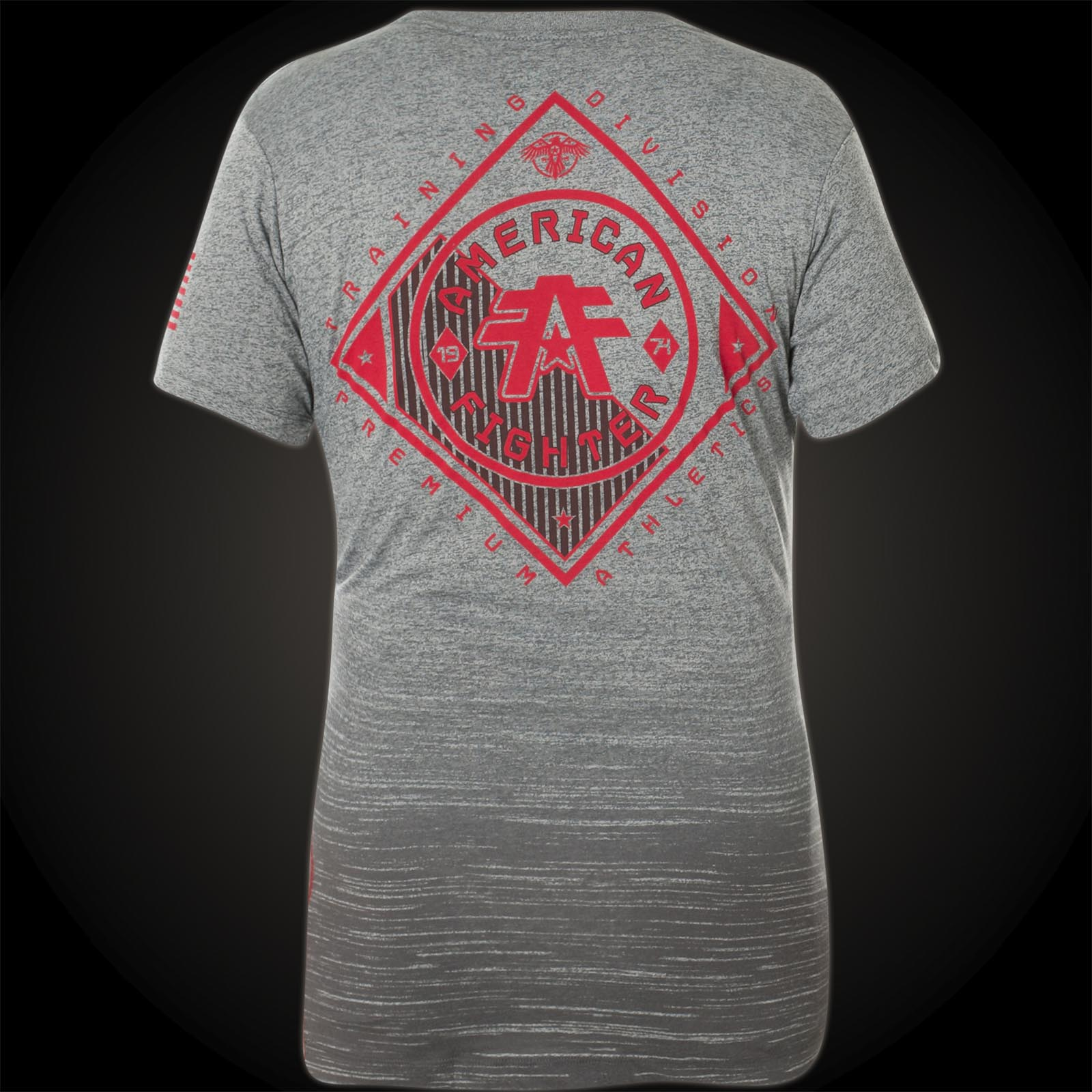 American fighter by affliction richmond with a logo print for T shirt printing richmond va