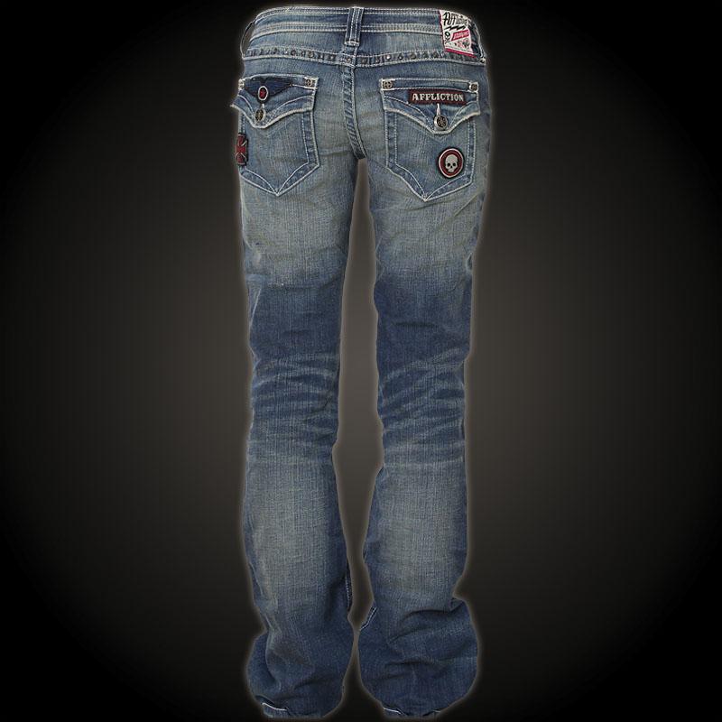 Affliction Jeans Jade Patriot Flap Crossroads Denim