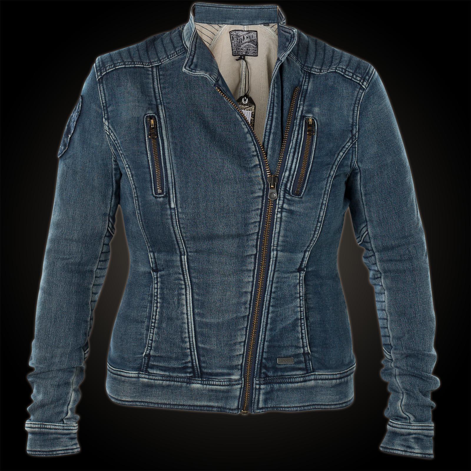 Affliction Woman Denim Jacket Coastal Retreat Blue