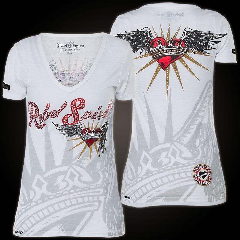 Rebel Spirit - Rebel Spirit T-Shirt GSSV131041 - Shirt ...