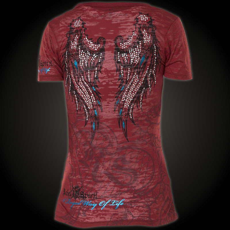 Rebel Spirit - Rebel Spirit T-Shirt GSSV110442 - Shirt ...