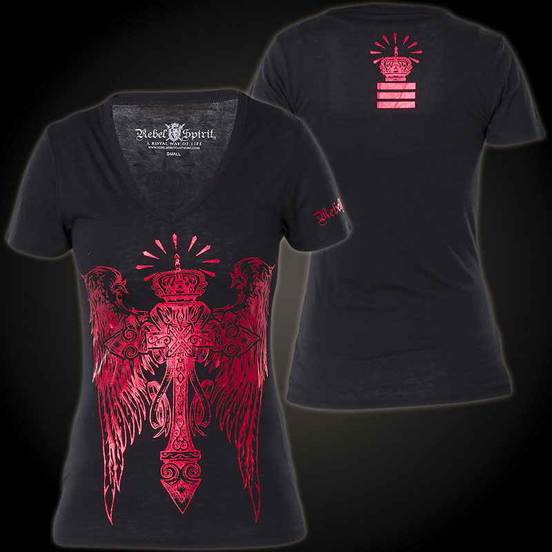 Rebel Spirit - Rebel Spirit T-Shirt GSSV141072 - Shirt ...