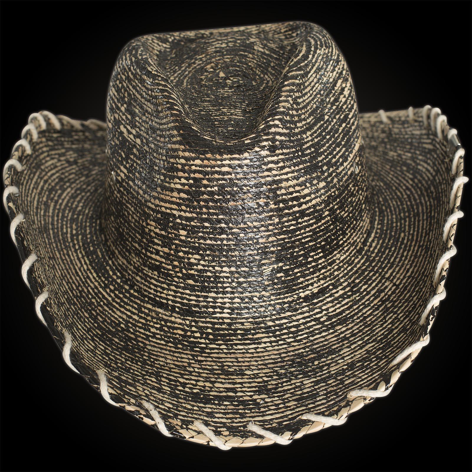 Wornstar Hat Essentials Hellrider HS Black   Natural Rocker Cowboy Hat  Beige Black ... 12c0090783a