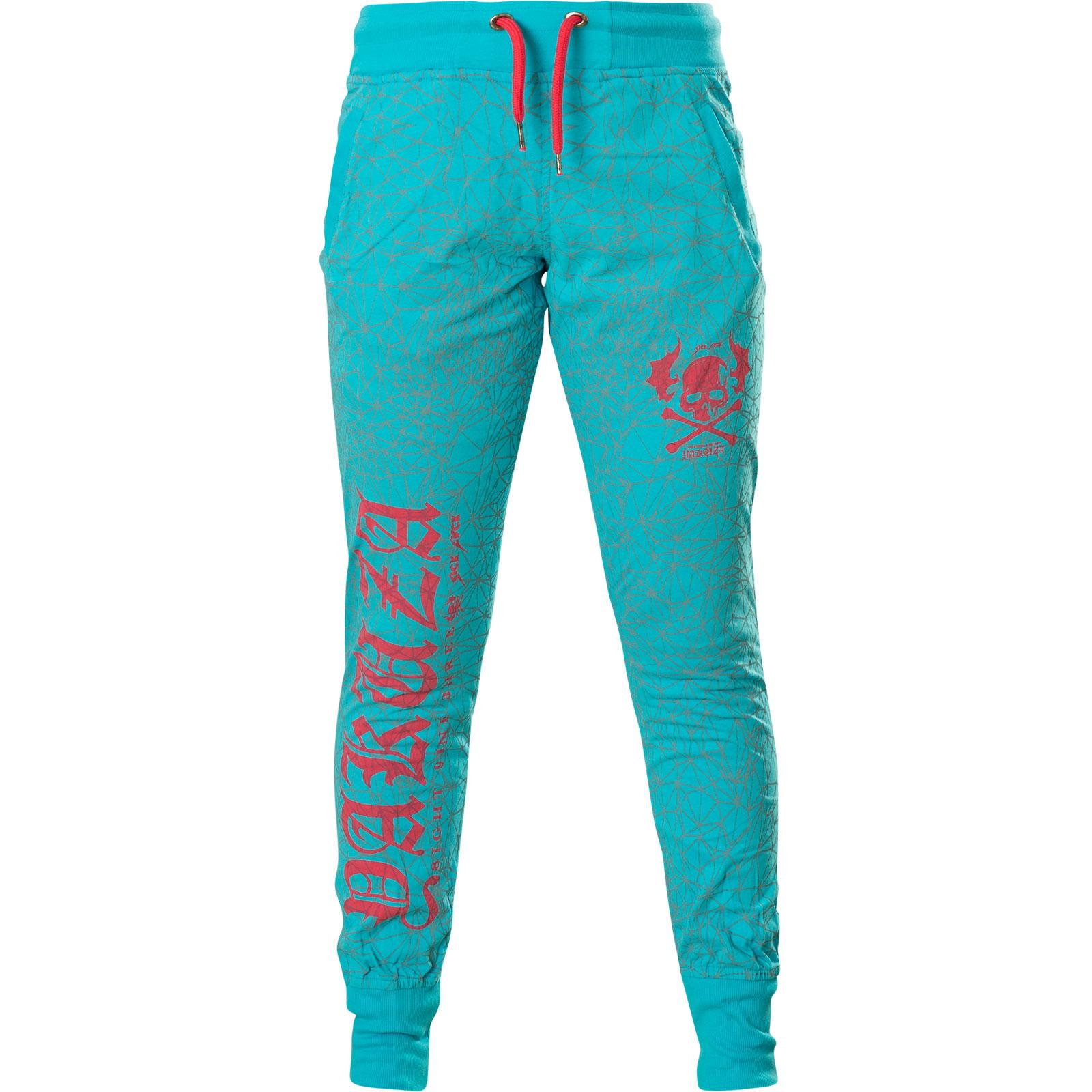 Yakuza Sweatpants Badge Jogger JOB-13047 Ebony
