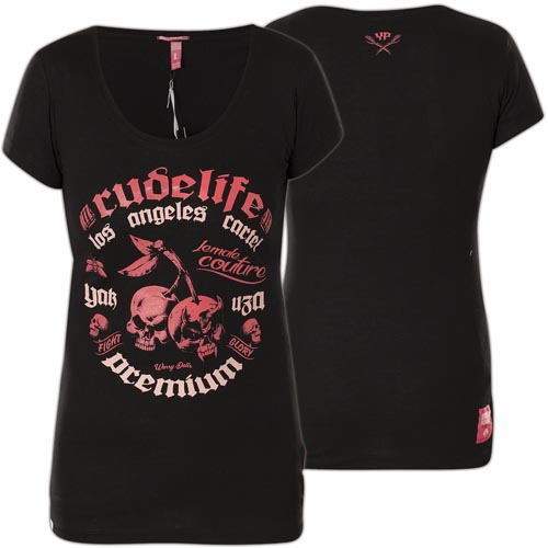 37fb82992 Yakuza Premium Woman T-Shirt GS-2337 Black