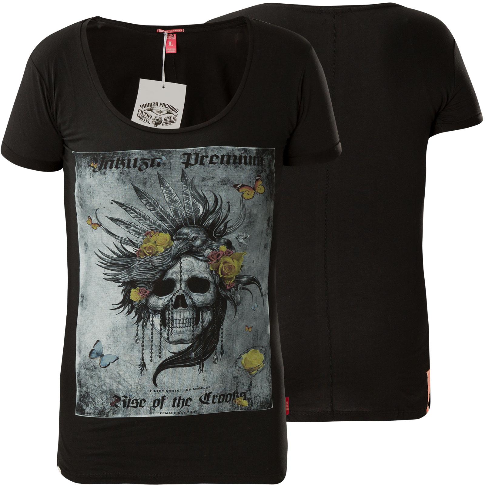 eab835790 Yakuza Premium Woman T-Shirt GS-2534 Black