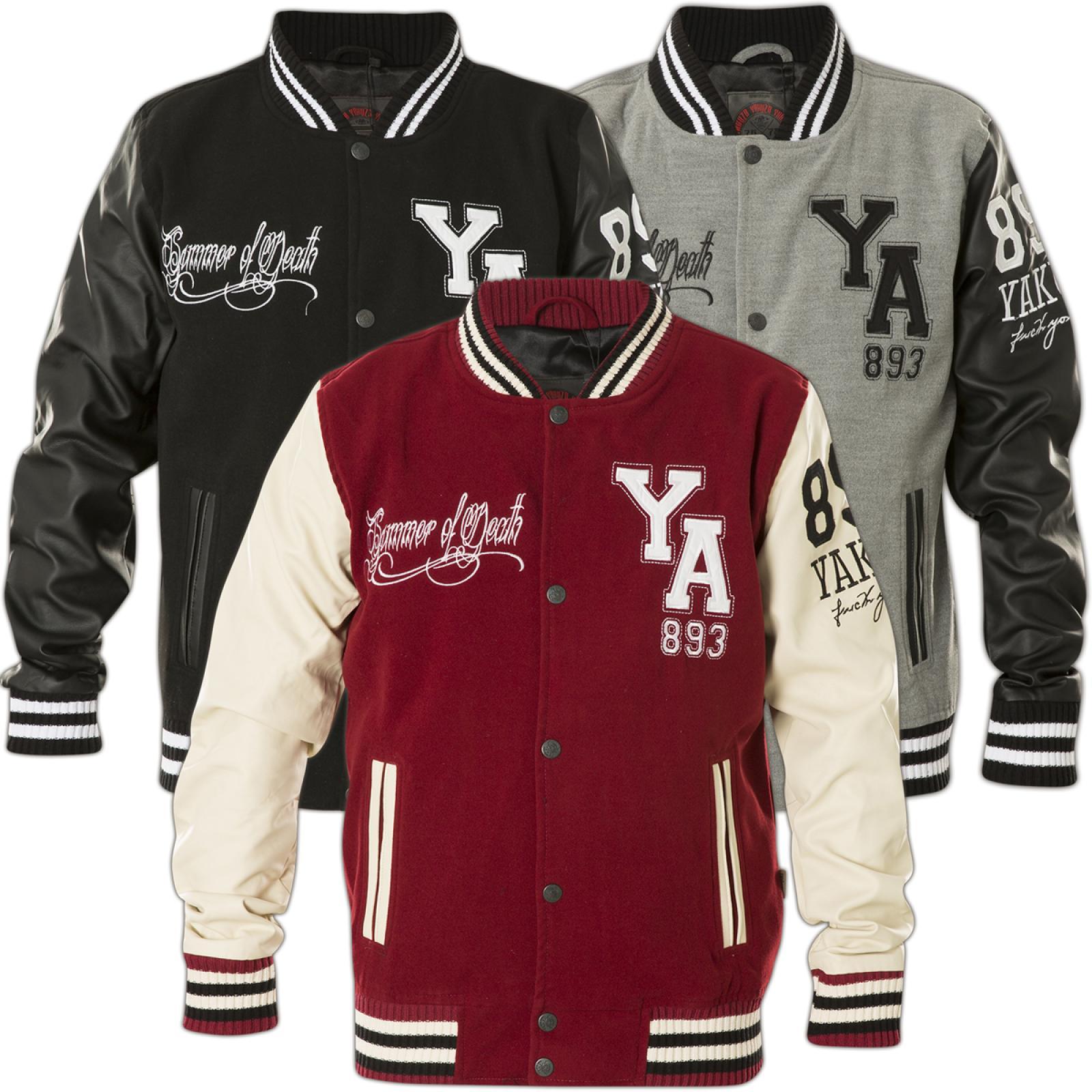 brand new 76538 74cc0 Yakuza Jacket Collegejacke Summer Of Death JB-9042 Black