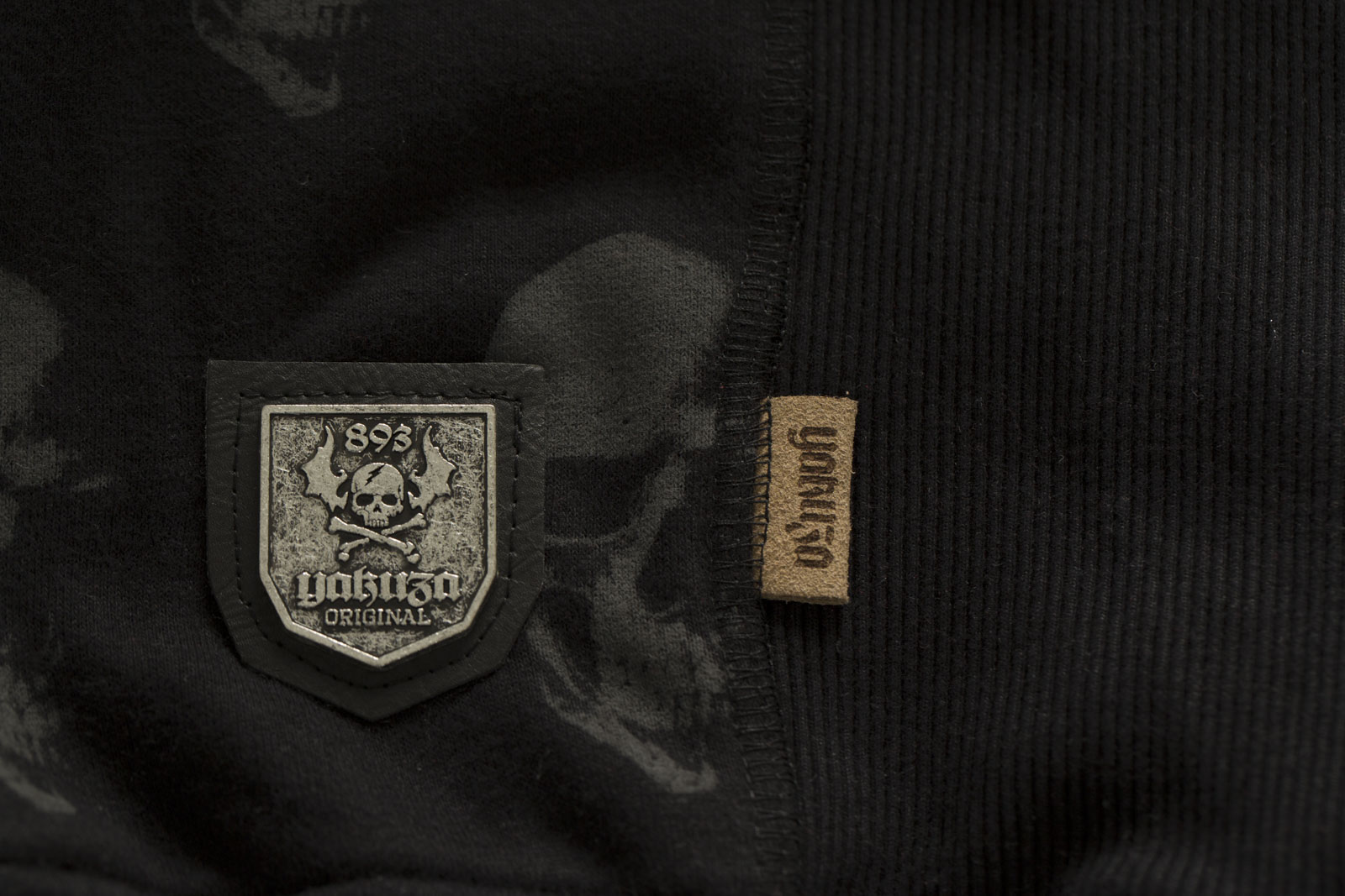 YAKUZA Sweatshirt Sick N Fuck Jumper PB-11017 Black Schwarz Sweatshirts