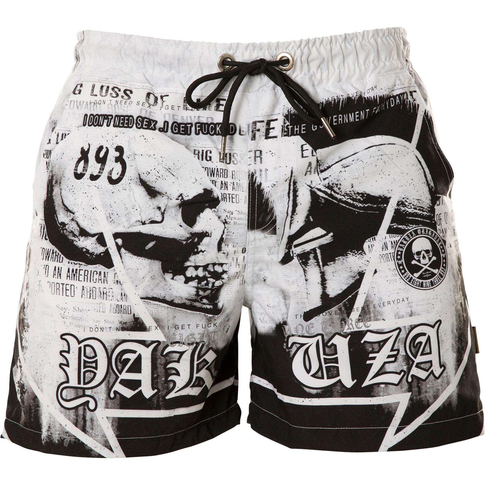 ... Yakuza Trojan Swim Shorts BSB-12042 Black White Black ... 111eaf2fc0