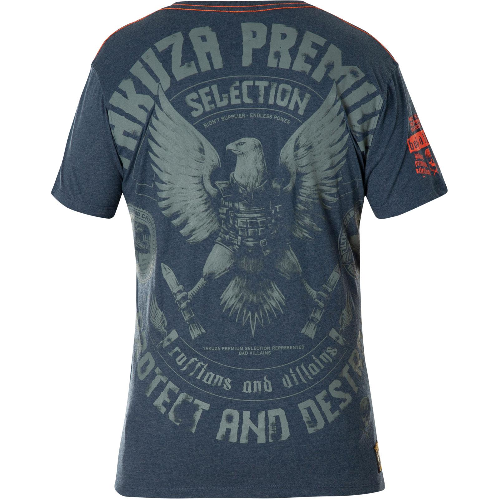 Yakuza Premium T-Shirt YPS-2604 Dark blue